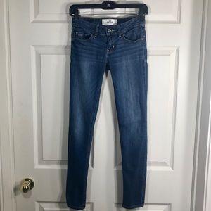 🎀EUC!🎀 HOLLISTER Super Skinny Medium Wash Jeans